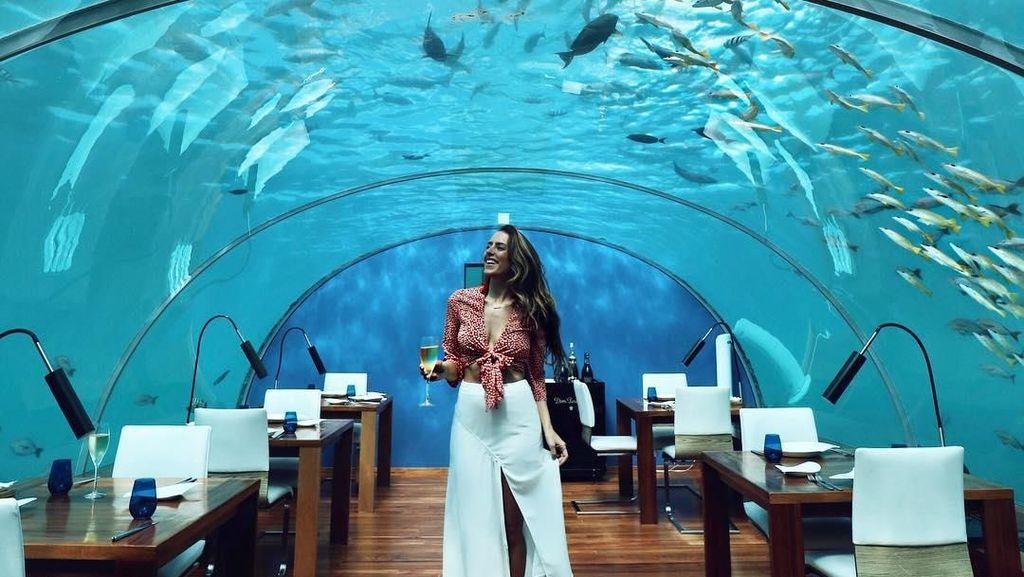 Ini Restoran Bawah Laut yang Eksotik dan Seru di Maladewa