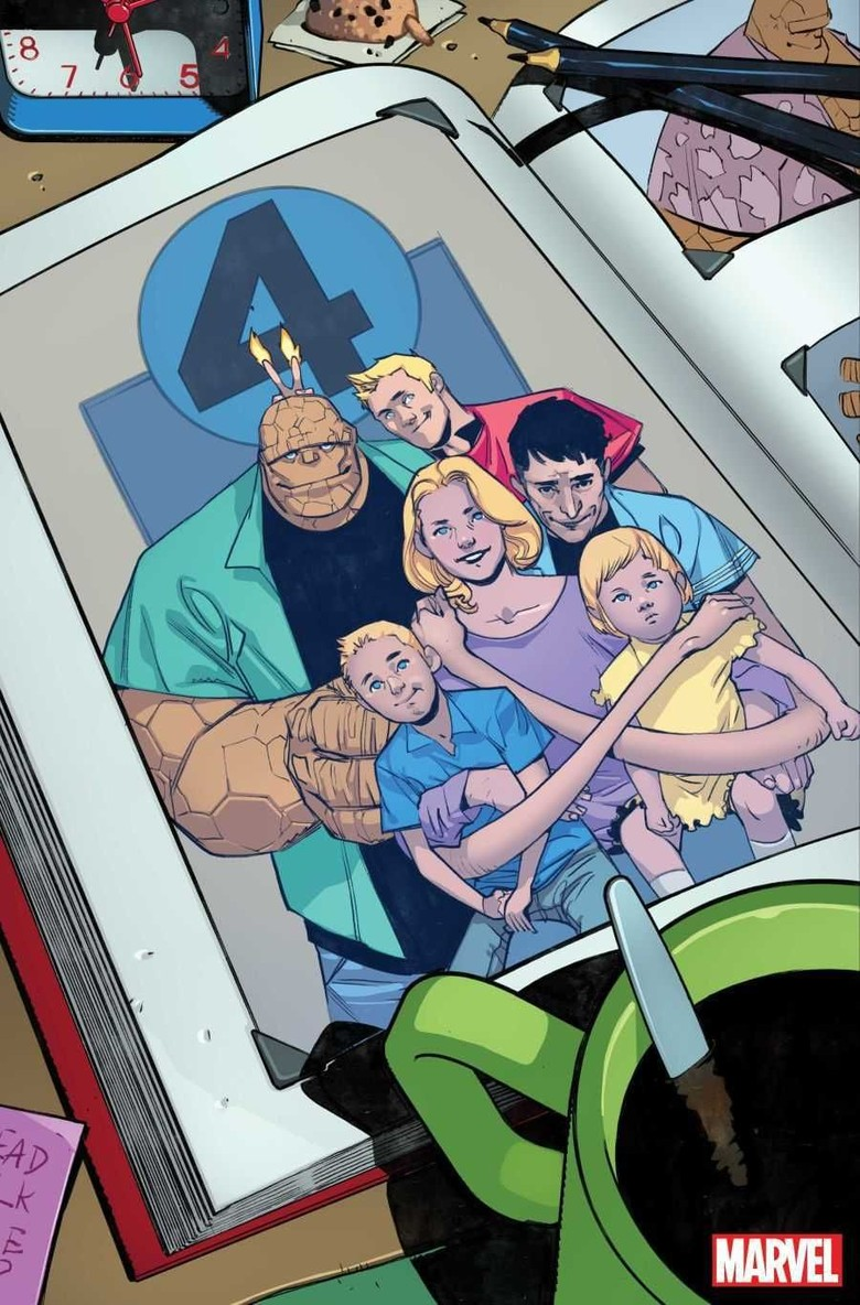 Begini Tampilan Terbaru Komik Fantastic Four #1