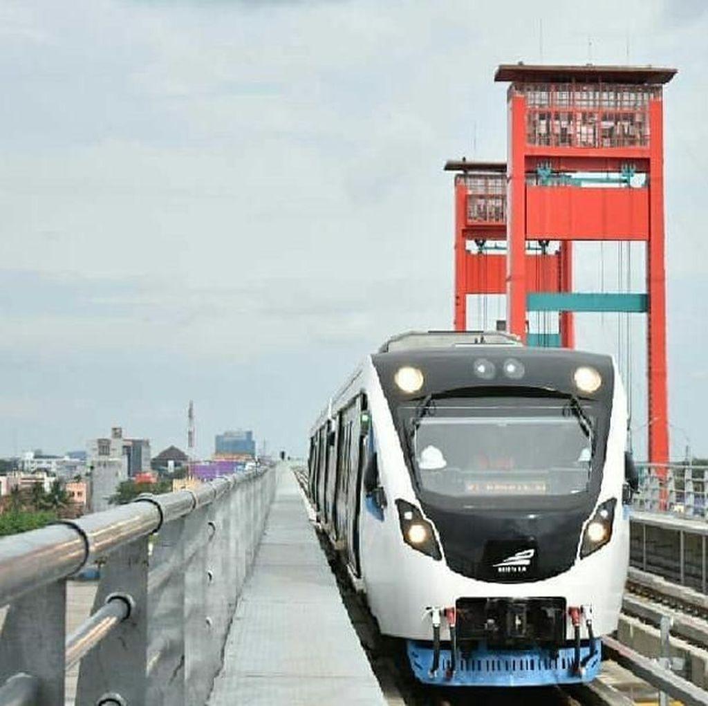 Mulai Besok LRT Palembang Ditutup untuk Umum