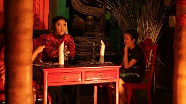 Bersantap Sambil Jadi Bagian Pertunjukan 'The Agony of Princess Wu'