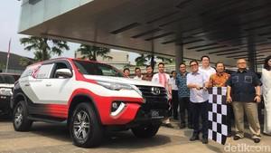 Toyota Fortuner Jadi Mobil Servis