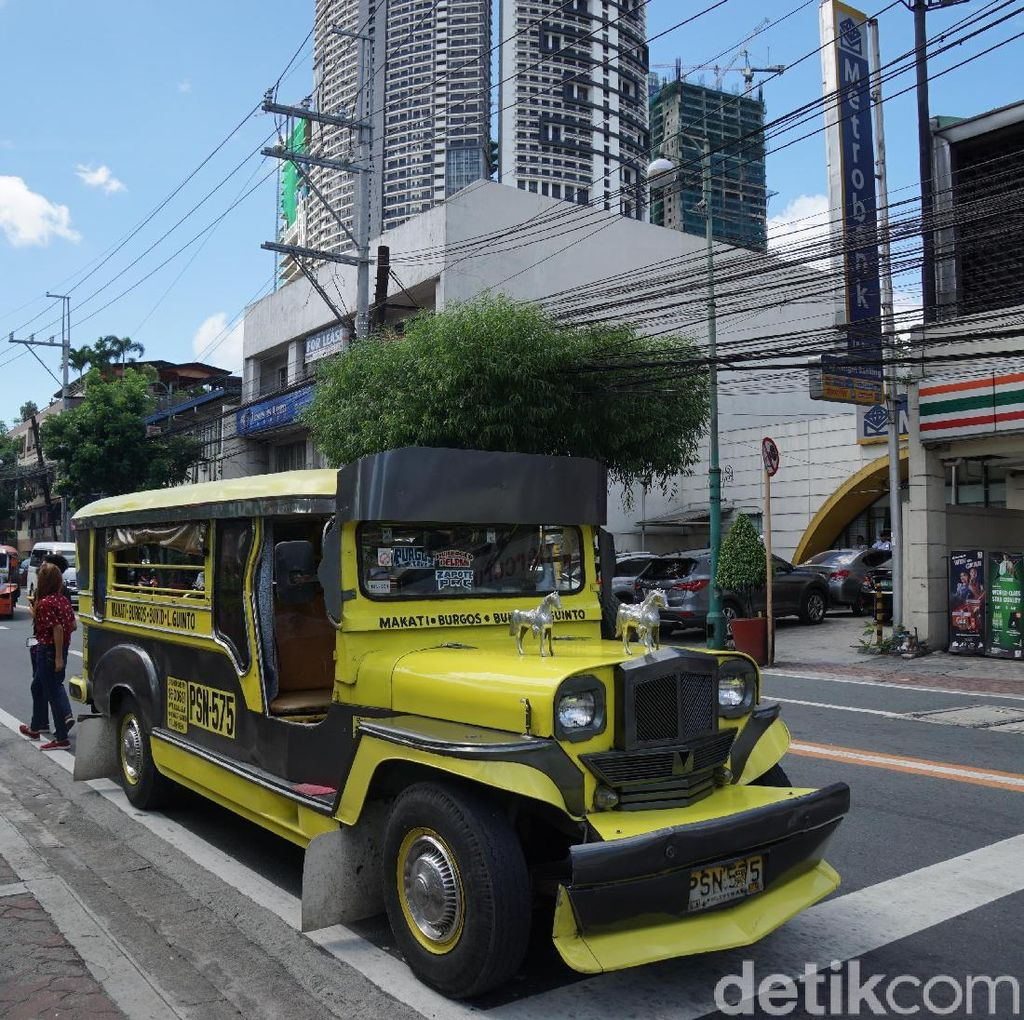 Penampakan Jeepney, Angkot Ikonik Orang Filipina