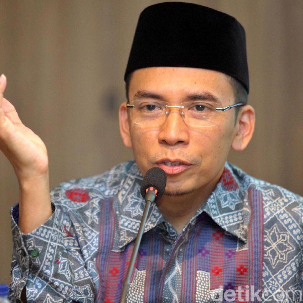 Momen TGB Bertemu Jokowi di Kuliah Umum Akademi Bela Negara NasDem