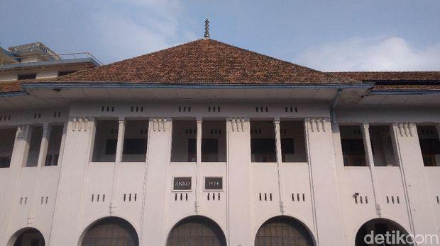 Salah satu sudut gedung BAT