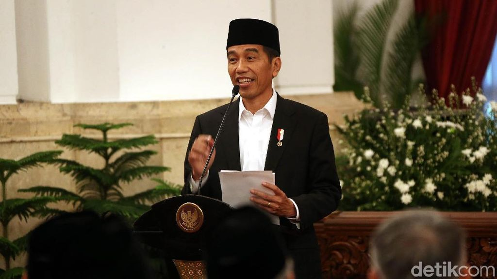 Kata Jokowi Soal Via Vallen Nyanyikan Lagu Asian Games