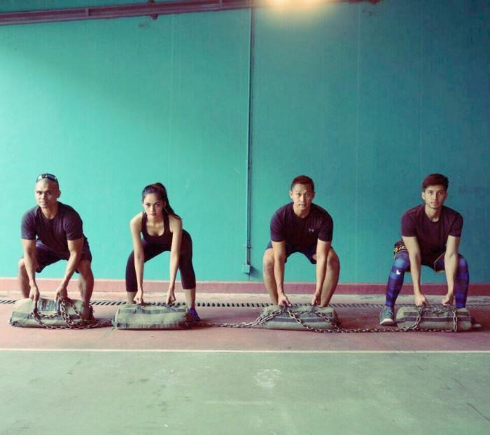 Nggak cuma jago jadi presenter olahraga, Kartika memang doyan fitness. (Foto:instagram/kartikaberliana)