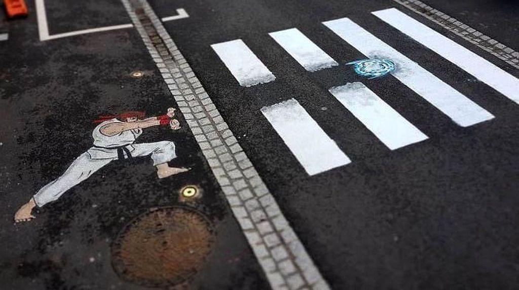 Melintas di Jalan Ini Nggak Bakal Bikin Bosan Lho