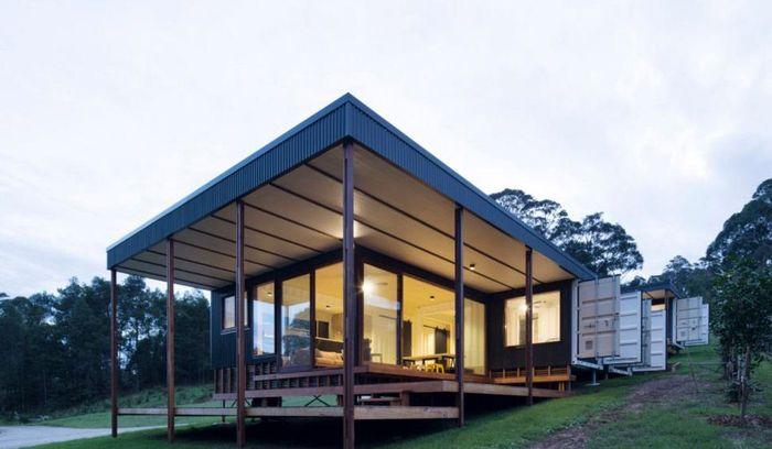 Rumah ini didesain oleh Matt Elkan Architect. Istimewa/Simon Whitbread/Inhabitat.