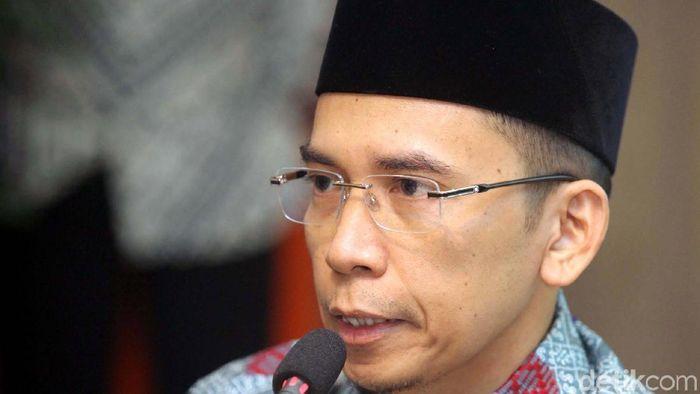 Gubernur NTB TGH Zainul Majdi alias Tuan Guru Bajang (TGB)  (Grandyos Zafna/detikSport)