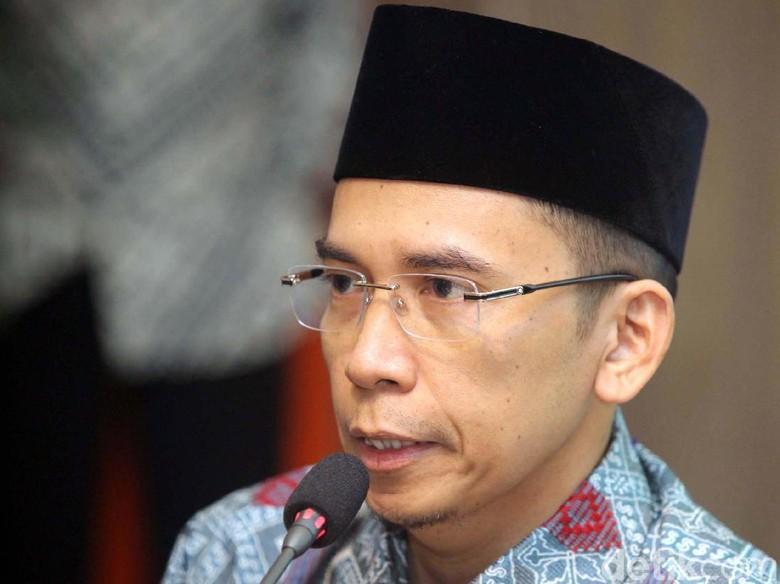 Masuk Bursa Cawapres Jokowi, TGB: Disyukuri Saja