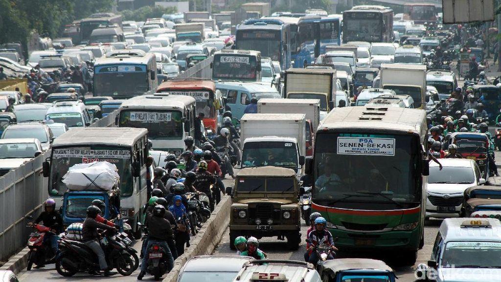 Bukan Jakarta, Ini Daerah dengan Penyebaran Kendaraan Terbanyak