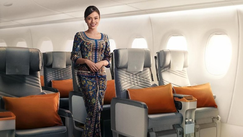 Singapore Airlines pesawat Airbus A350-900 ULR