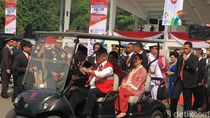 Anies Temani Jokowi Tinjau Area GBK tapi Tak Semobil Golf