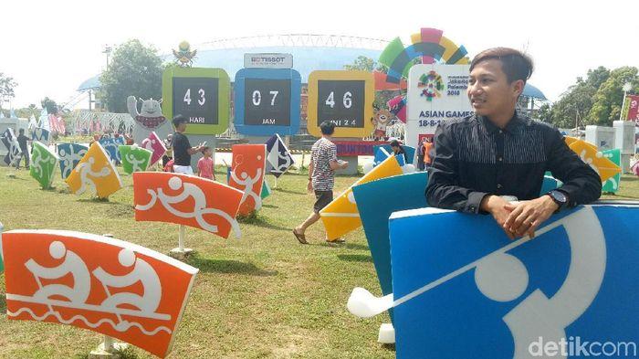 Kirab pbor Asian Games 2018 akan melintasi tujuh daerah di Sumsel (Foto: Raja Adil Siregar)