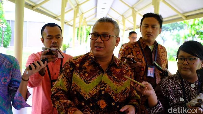 Temui Jokowi, KPU Minta Dukungan Perkuat IT