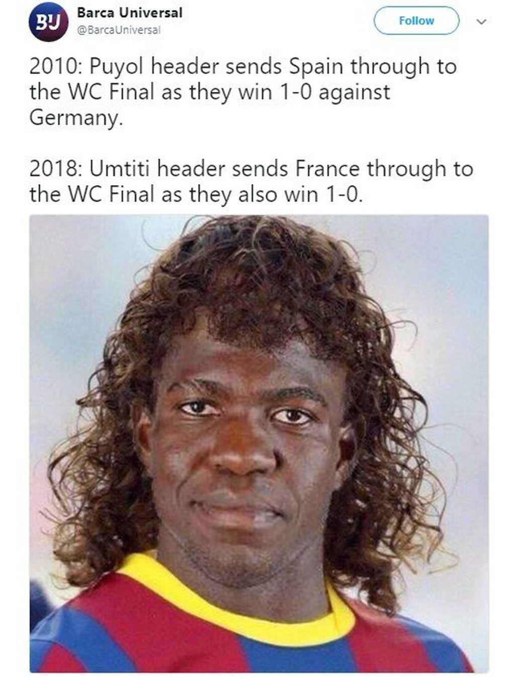 Kegemilangannya bahkan disamakan dengan Puyol yang mampu bawa Spanyol ke Piala Dunia 2010. Foto: Istimewa