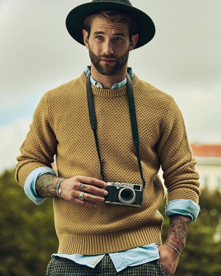 Andre Hamaan merupaakn salah satu model tampan asal Jerman yang mengisi waktu luangnya dengan traveling. (andrehamann/Instagram)