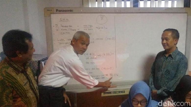 Ganjar: Tidak Usah Khawatir Sekolah di Swasta