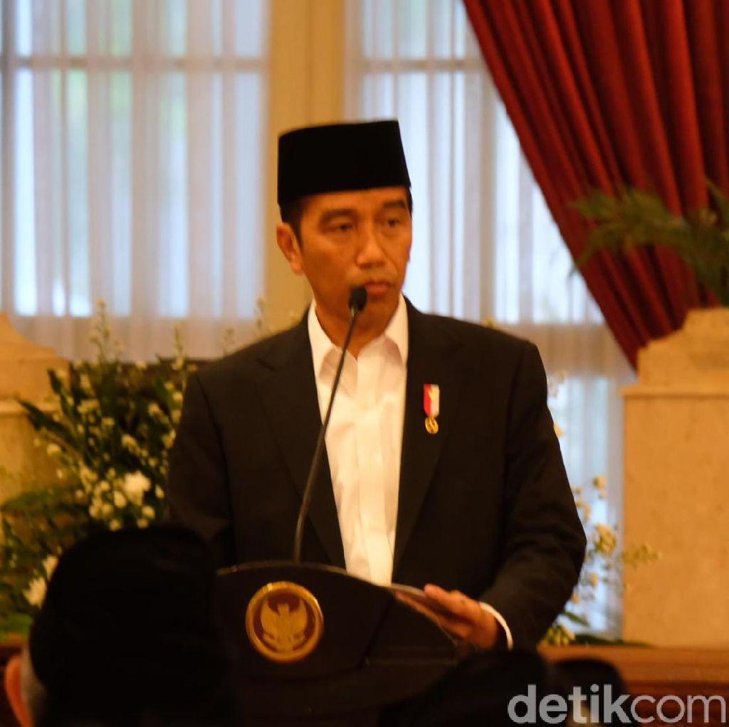 Jokowi: Silakan Bersaing Jadi Cawapres 1-2 Minggu Ini