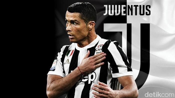 Sebagian fans Cristiano Ronaldo kecewa setelah ia memutuskan hengkang dari Real Madrid ke Juventus. Foto: Zaki Alfarabi/detikcom