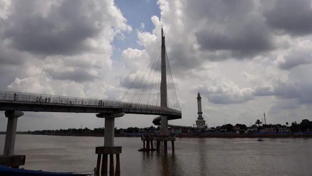Wisata di Jambi, Wajib Mampir ke Jembatan Gentala Arasy