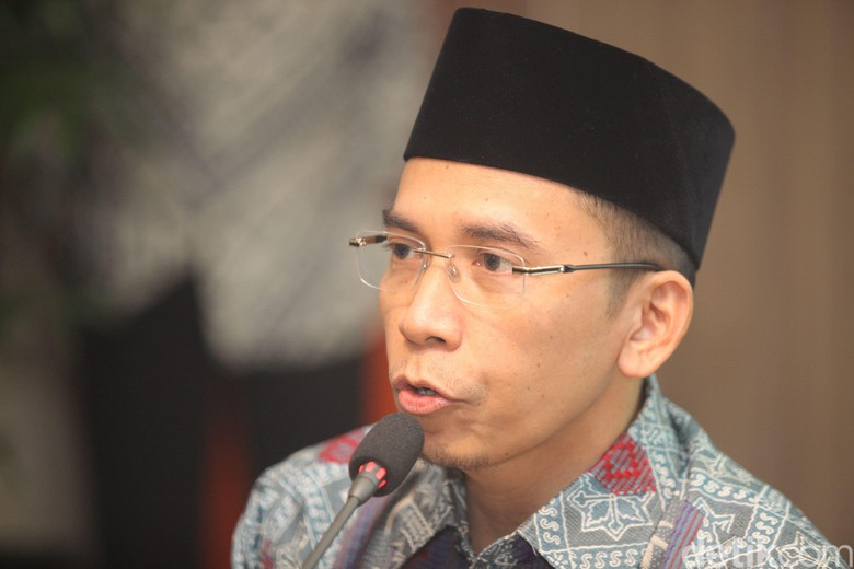 Masuk Kantong Cawapres Jokowi, TGB: Banyak Tokoh Lebih Hebat
