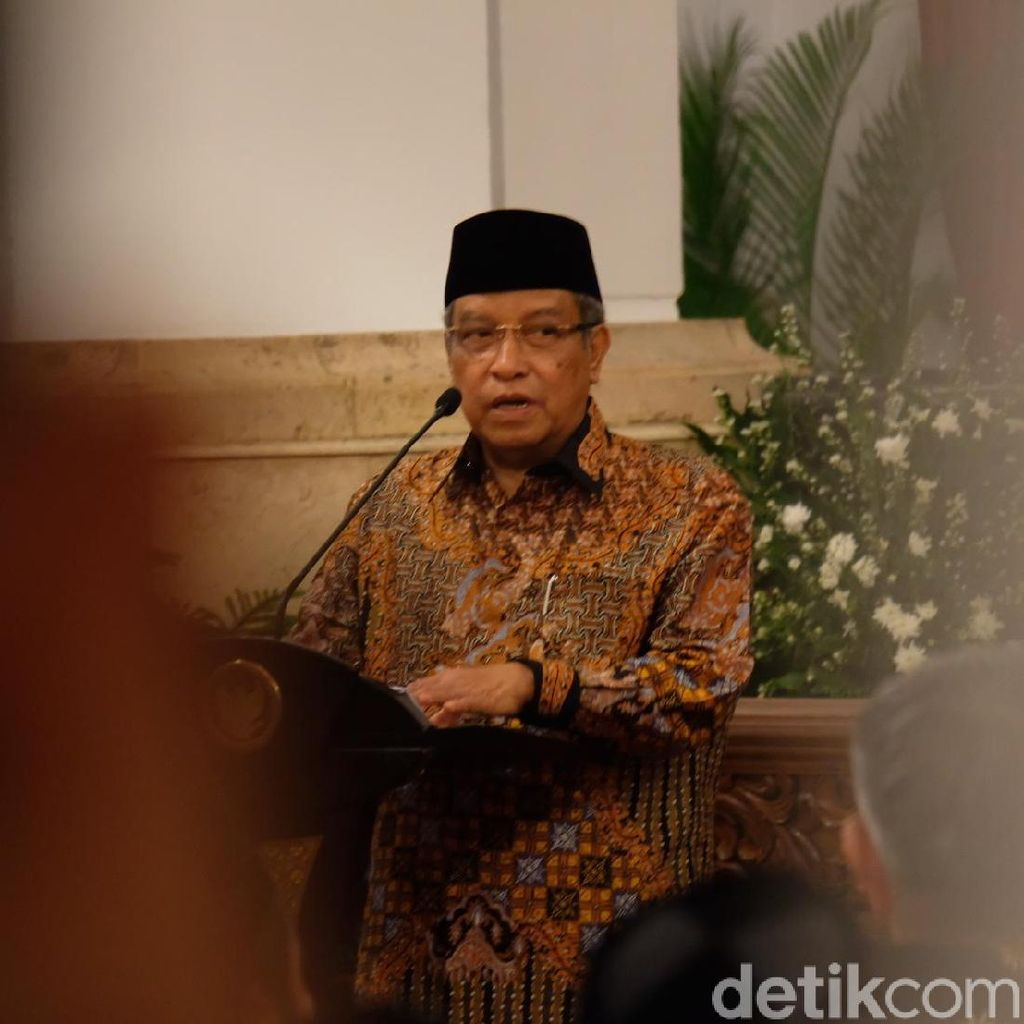 Said Aqil Dukung Maruf Amin Jadi Cawapres Jokowi