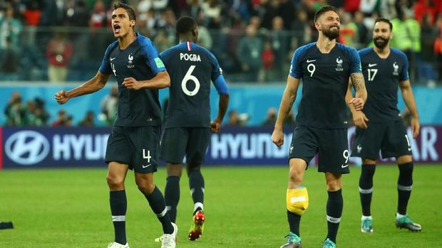 Timnas Prancis punya waktu istirahat yang lebih banyak dibandingkan Kroasia.