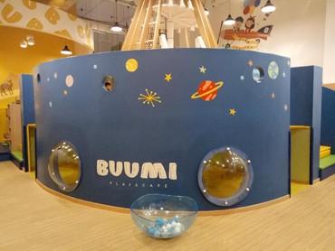 Buumi Playscape mulai dibuka sejak Mei 2018 oleh empat perempuan, salah satunya Natasha R Guna. Dikatakan Natasha tempat ini dirancang bukan hanya untuk sebagai tempat bermain, tapi juga untuk integrated children space.