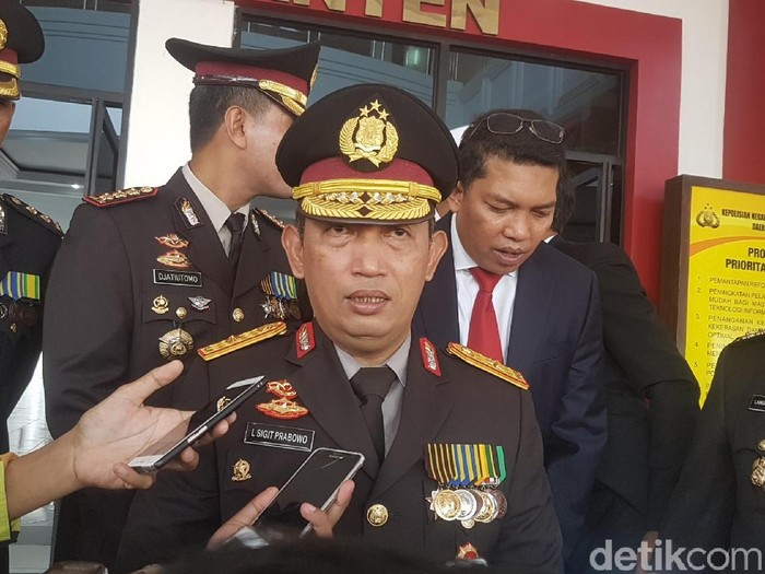 Listyo Sigit Prabowo semasa menjabat sebagai Kapolda Banten (Foto: Bachtiar Rifai/detikcom)