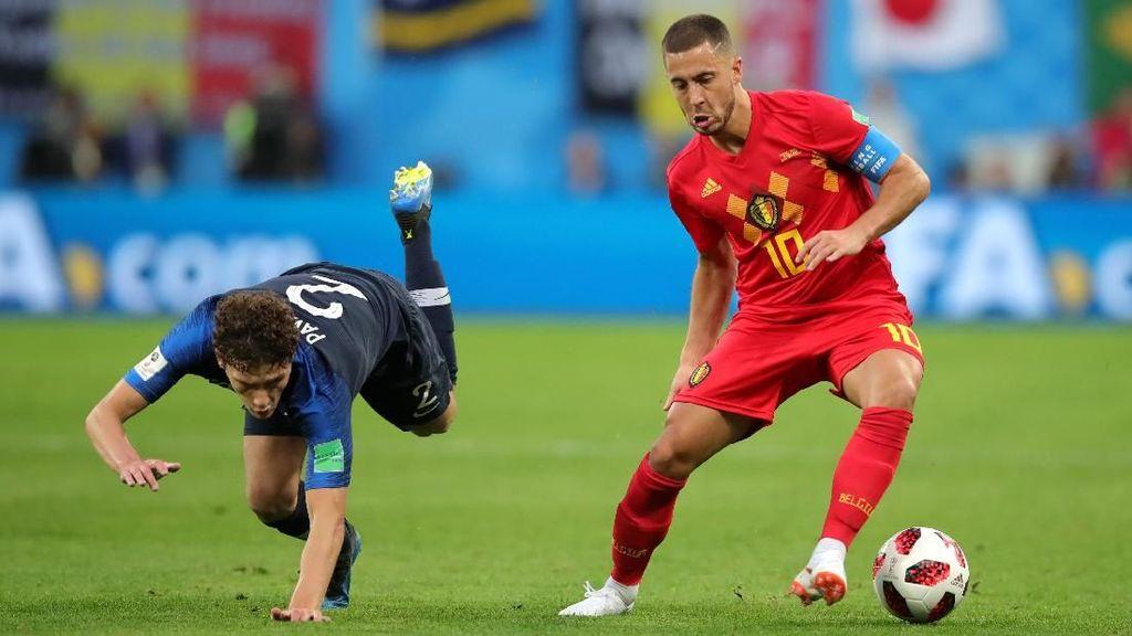 Puncaki Peringkat FIFA Bersamaan, Prancis-Belgia Bikin Rekor Baru