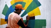 Warna-warni Asian Games Percantik Flyover Abdullah Syafei