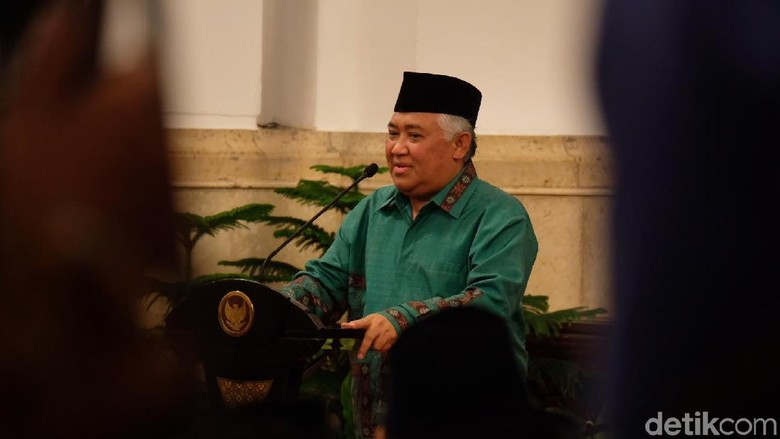 Disebut Kandidat Cawapres Jokowi, Din Syamsuddin Tersanjung