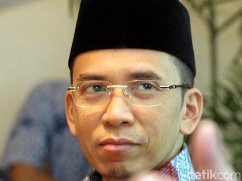 TGB Minta Bantuan Jokowi Soal Pembersihan Reruntuhan Akibat Gempa