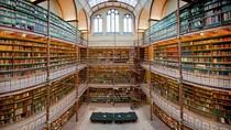 Cantiknya Perpus Seni Terbesar dan Tertua di Belanda