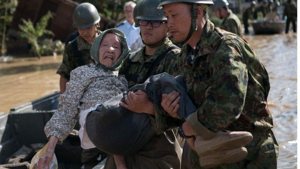 Korban Tewas Akibat Banjir dan Longsor di Jepang Mencapai 126 Jiwa