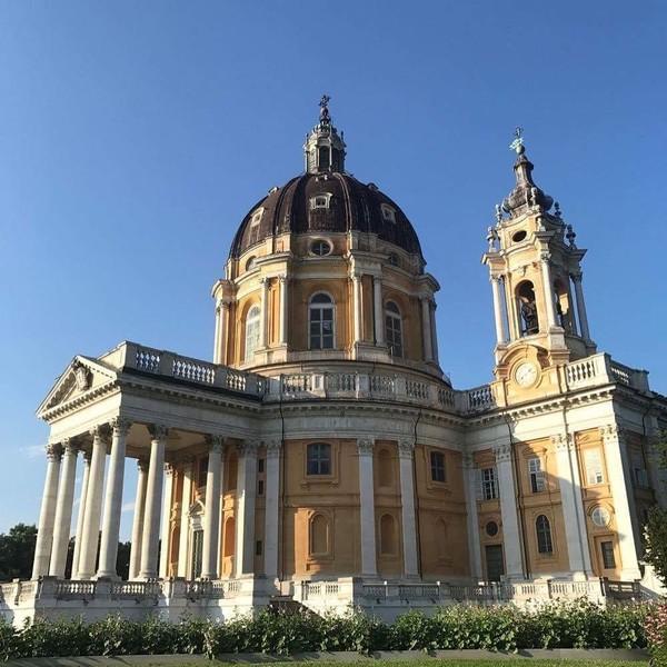 Turin juga punya banyak katedral cantik. Salah satunya adalah Basilika Superga ini (Instagram/@turismotorino)