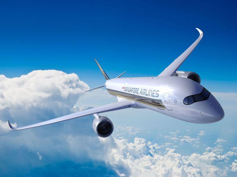 Pesawat Airbus A350-900 ULR (ultra-long-range) pertama dunia akan terbang dari Singapura-Los Angeles oleh maskapai Singapore Airlines. (Singapore Airlines)