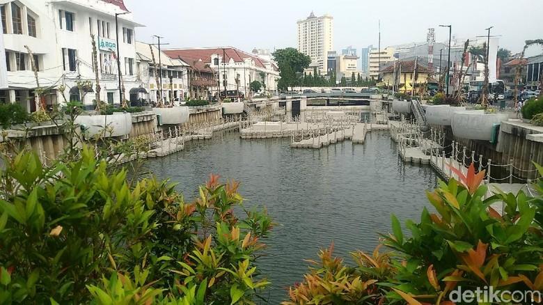 Penampakan Kali Besar di Kota Tua Jakarta (Randy/detikTravel)