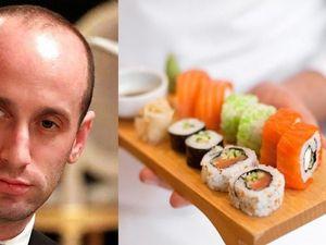 Ini Alasan Stephen Miller, Penasihat Donald Trump Buang Pesanan Sushi Seharga Rp 1,1 Juta