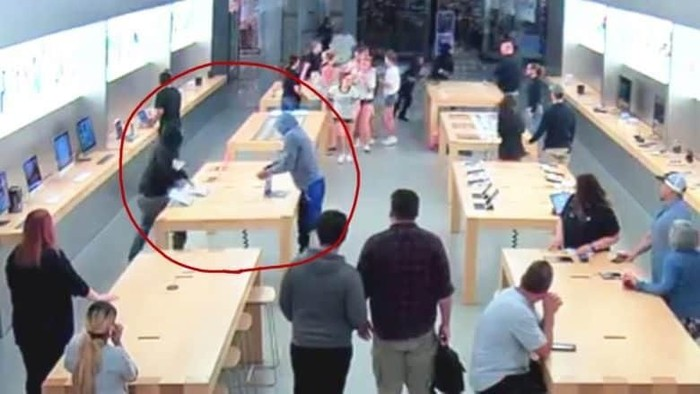 Apple Store yang kemalingan. Foto: Apple
