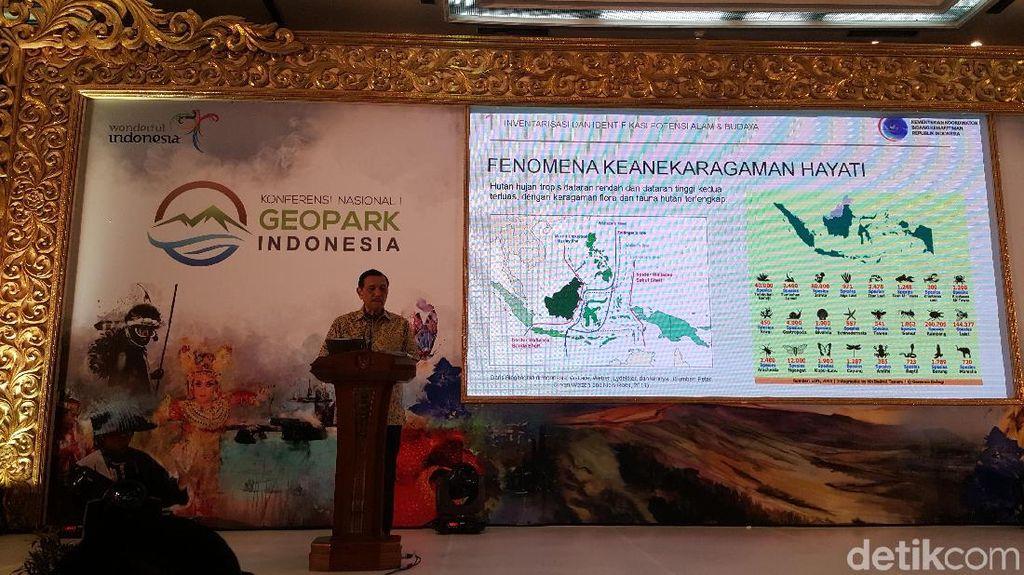 Pemerintah Tegaskan Komitmen Untuk Geopark di Indonesia