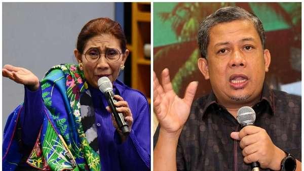 Susi vs Fahri, Begini Komentar Netizen