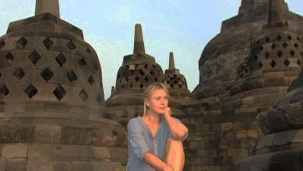 Gaya Traveling Maria Sharapova, Sudah Pernah ke Indonesia