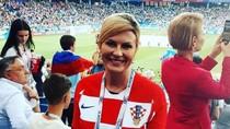 Dukung Timnas di Piala Dunia, Presiden Kroasia Naik Pesawat Ekonomi