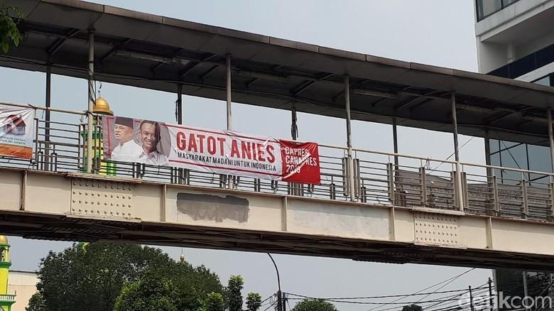 Beredar Spanduk Gatot-Anies untuk Pilpres 2019