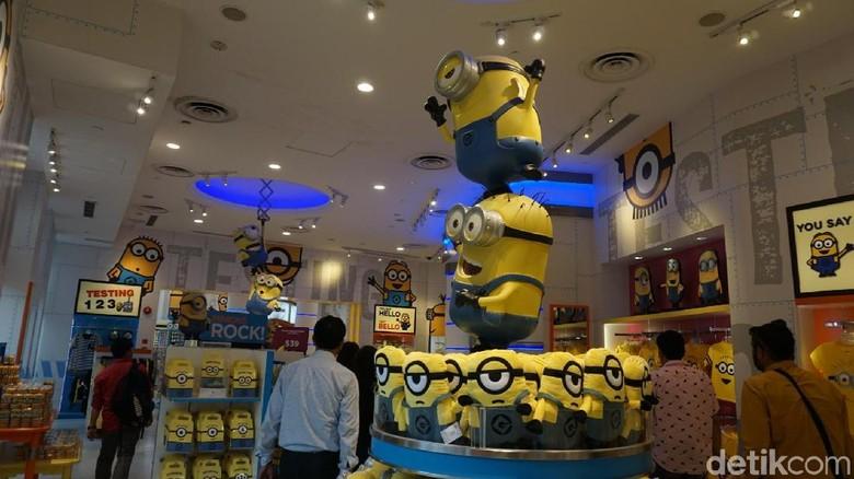 Foto:  Minion Mart di Universal Studios Singapore (Shinta/detikTravel)