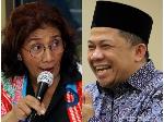 Fahri Hamzah Selamati Menteri Susi atas Kelulusan Paket C