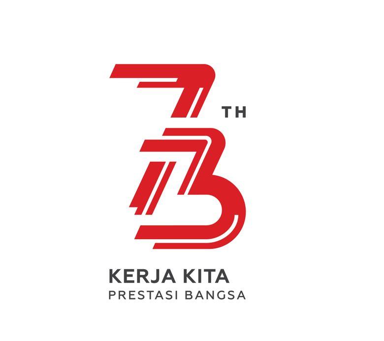 Ini Logo HUT ke-73 RI, Bertema Kerja dan Energi