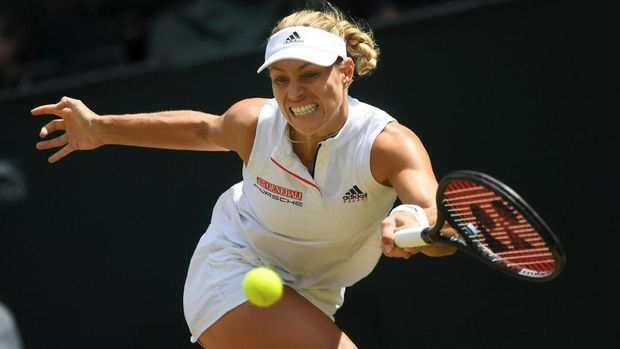 Angelique Kerber jadi lawan Serena Williams di final Wimbledon